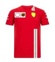 F1 Fórmula One Racing Suit Camiseta Camisa de solapa para solapa Traje de equipo personalizado Estilo personalizado