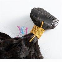 VHOT Satış Hint Doğal Renk 100G Sınıf 12A Kinky Kıvırcık 3A 3B 3C 3C Bakire Remy Bant Gerçek İnsan Saç Demetleri Uzantıları