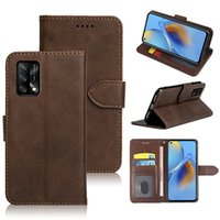 High Quality Leather Phone Cases For OPPO F19 F17 F11 F9 Pro F7 Youth F5 F3 F1s F1 Find X3 X2 Neo With Card Slot Magnetic Kickstand Flip Cover Shockproof Case