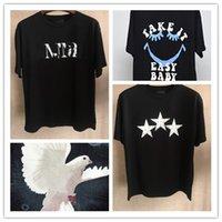 Herren T-Shirt Shorts Sleeve-Kleidung Designer-Liebhaber-T-Shirt-PARIS-Frankreich-Straße T-shirts Gute Qualität asiatische Größe S-3XL