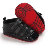 Designer kids Baby Boy Shoes Newborn First Walker Sneakers Solid Unisex Crib Infant PU Leather Footwear Toddler children Girl 0-18month