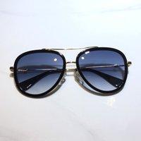 0062 여성을위한 선글라스 클래식 여름 패션 스타일 금속 및 판자 프레임 인기있는 눈 안경 최고 품질의 안경 자외선 차단 렌즈