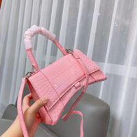 Fashion Ladies Handbags Women Shoulder Messenger Bags High Quality Leather Wallets Pink Crocodile Pattern black white