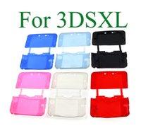 Custodia in silicone morbida per Nintendo NUOVO 3DS XL LL 3DSXL / 3DSLS console full corpo protettivo pelle conchiglia