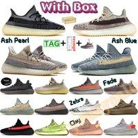 En iyi  Zebra Krem Beyaz Mavi Tonu Beluga 2.0 Tereyağı Susam Splv Koşu Ayakkabıları Tasarımcı Sneakers Kutu 5-13