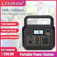 Liitokala Tragbare Kraftwerk 85800mAh Batterie Notfall Energiespeicher Reine Sinuswellenversorgung 330W Solargeneratorbank
