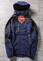 LookNow Vendi classici da uomo Oudoor con cappuccio Polartec Softshell Giacca Nord Sport maschili antivento impermeabile traspirante viso invernale cappotti