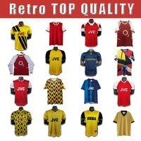 86 1993 Arsen Ian Wright Tony Adams Cole Retro Soccer Jersey 94 88 Rastle Dixon Campbell Merson Smith Camisa de fútbol para adultos