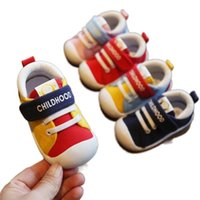 First Walkers Baby Boy Girl Canvas Toddler Shoes Sport Sneakers Born Infant Anti Slip Sole Boys DF201