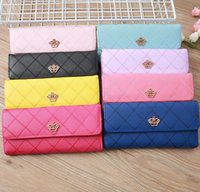 666 High Quality Women Classic Envelope-style Long Wallet Purse Credit Card bag