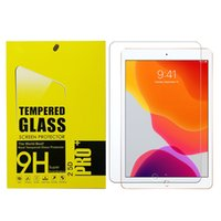 9H Tempered Glass Screen Protectors Film For iPad Pro 10.5 11 Air 4 10.9 10.2 Mini Samsung Tab A7 T500 T510 S5e T720 S6 T860 P610 Active3 T570 S7 T870 T290 P200 Retail Package