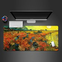 Mouse Pads & Wrist Rests Beautiful Watercolor Pad Abstract Art Mousepad Fashion Computer Keyboard Table High Quality Large Game Mats