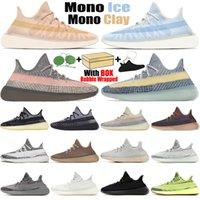 Kanye chaussures de course pour hommes femmes statique réfléchissant Ash Blue Pearl Stone Bred Cinder Carbon hommes formateurs baskets de sport