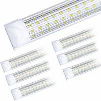 20 adet, 4ft 5ft 6ft 8ft LED Tüp Işık U Şekil Entegre LED Tüpler 4 5 6 8 FT Soğutucu Kapı Dondurucu LED Işıklar
