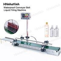 Máquina de enchimento líquido de controle digital pequeno da máquina de enchimento da máquina impermeável da máquina de enchimento para o filtro de óleo de perfume Produção 1200mm da garrafa de água da bebida ou 600mm