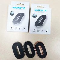 Magnetic Car Phone Holder Dashboard Mini Strip Shape Stand in Car For iPhone Samsung Metal Magnet GPS Mount for Wall