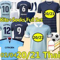 Kits pour hommes et enfants 2021 RC Celta de Vigo Soccer Jerseys Retro 2002 04 Camiseta de futbol Iago Aspas S.Mina Denis SUÁrez Football Shirts