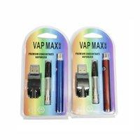 Новый комплект VAP MAX W3 350 мАч вершина предварительного нагрева В.В. Переменный напряжение VV 0.5 мл 1.0 мл для 510 резьбового испарения Vape Pen E-Cigarette Kit