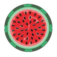 Beach Towel Food Fruits Outdoor Foldable Lawn Picnic Mat Outdoors Portable Creative Irregular hamburger Pizza French fries ice cream LLE7559