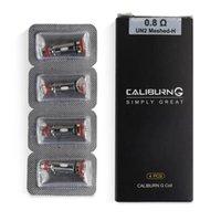 Uwell Caliburn G Mesh Coil 0.8ohm UN2 MESHED-H Sostituzione bobine di ricambio Testa per Caliburn G POD Kit di sistema
