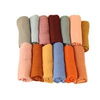 Mantas infantiles Condición de aire de algodón Manta Bebé Baby Soft Baño Toallas Wrap casual Swaddle Parisarc PRAM SALURLER SHANDES CUBIERTE YL346
