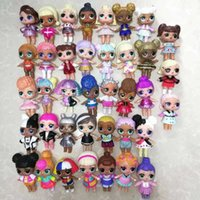 5 10pcs LOLs Surprise Dolls with Original l.o.l Outfit Clothes Dress Series 2 3 4 Limited Collection Figure for Girls Kids Toys Q0910