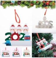 DHL 패스트 크리스마스 장식 파티 호소 혈관 장식품 수지 산타 클로스 마스크 장식 크리스마스 트리 매달려 펜던트 BT19