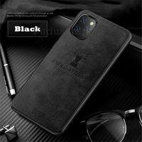 Rugged Cloth Phone Case For Samsung Galaxy M10 M20 M30 M10S M30S M11 M21 M31 M31S M60S M80S Cloth Pattern Cover Elk Deer Shell