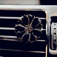 Clip de perfume de automóvil Casa Difusor de aceite esencial para el automóvil Outlet Locket Clips Flower Auto Aire Aconicionamiento Acondicionado Clip de ventilación HWD11174