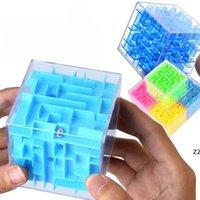 جديد 3D المتاهة كتل ماجيك شفافة ستة الوجهين لغز سرعة المتداول الكرة لعبة cubos المتاهة لعب للأطفال حزب تعليمي صالح HWA7535