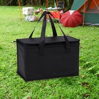 Storage Bags Portable Lunch Cooler Bag Folding Insulation Picnic Ice Pack Food Thermal Drink Carrier Insulated Delivery