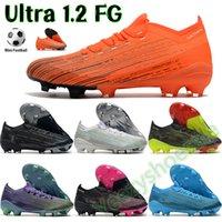 Soccer Cleats Voetbalschoenen Ultra 1.2 FG Mannen Sport Sneakers Wit Zwart Multi-Color Bright Blue Purple Volt Red Mens Trainers US 7-11.5