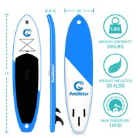 Funwater Uscaeu Warehouses Dropshiping Entrega dentro de 7 dias Surfboard 335 * 82 * 15cm Inflável Stand Up PaddleBoard Atacado Sup Paddle Board Water Sport Surfing