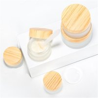 5g 10g 15g 20g 30g 50g Frosted Glass Jar Face Cream Bottle Cosmetic Makeup Lotion Storage Container Jars