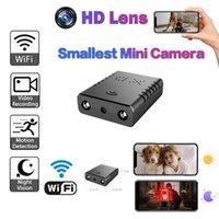 Mini Kameralar Küçük HD 1080 P WIFI XD Kamera Gece Görüş Mikro Kamera Hareket Algılama DV DVR Güvenlik Desteği 128g TF Kart
