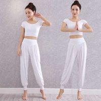 Yoga pantsSummer suit female beginner modal training belly dance lantern pants Pants