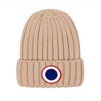 새로운 겨울 모자 솔리드 컬러 양모 니트 비니 여성 캐주얼 모자 따뜻한 여성 부드러운 두꺼운 헤징 캡 Slouchy Bonnet