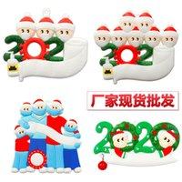 Christmas PVC Christmas Snowman isolation mask family Christmas Tree Decoration pendant