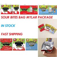 packaging bags Sour Tropical Blend 600mg Gummy Bites Edibles mylar bag Smell proof Baggies fast delivery in stock 2021