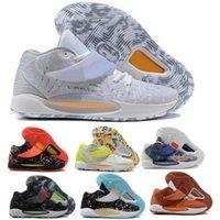 14 14s أحذية كرة السلة أحذية رياضية الرجال النساء كيفن المتداخلة الرئيسية الأزهار الحلم الأساسية مخدر عميق Royal Zoom 2021 التنس الرياضية