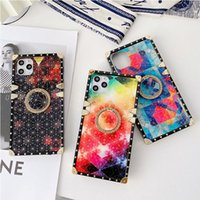 For iPhone 13 Pro Max Phone Cases Fashion ring design Samsung A12 A02 A32 S20 Ultra Protective Case