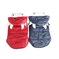 Dog Apparel Cattle Cosplay Coat Clothing Winter Warm Pet Clothes Hooded Thick Cotton Cat Puppy Dogs Jackets