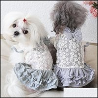 Dog Supplies Home & Gardendog Apparel Cute Daisy Pet Cat Bow Party Dress Tutu Skirt Summer Puppy Hoodie Shirt Vest Costume Girl Clothes For