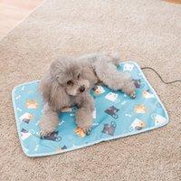 Kennels Stylos PET Dog Chat Chauffage Chauffage Étanche Lit électrique Réchauffeur Réglable Tapis chauffants à chauffage tendre pour fournitures