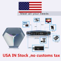 USA IN VOORRAAD A95X F4 Android 10 RGB Smart TV Box AMLOGIC S905X4 1080P 4K 60FPS HD-ondersteuning 5G DUAL WIFI Google Player