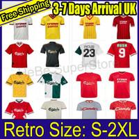85 86 Dalglish Ruddock Retro Soccer Jerseys 93 97 Fowler Redknapp Wright McManaman 04 05 08 09 10 Gerrard Torres Maserano Football Hemd