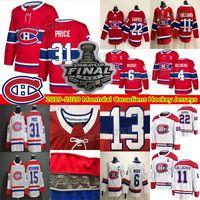 몬트리올 Canadiens Jersey 22 Cole Caufield 14 Nick Suzuki 31 Carey Price 11 Brendan Gallagher 6 Shea Weber Hockey Jerseys