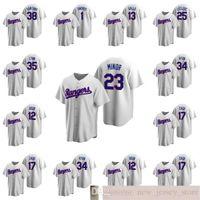 2020 Hombres de béisbol Danny Santana Joey Gallo Jose Leclerc Lance Lynn Cooperstown Colección Inicio Mujeres Jersey Jersey