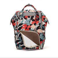 Sunflower Diaper Leopard Mommy Backpack Waterproof Nappy Bag Large Capacity Travel Backpacks Baby Nursing Stroller Bags YHM642-ZWL