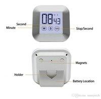Touchscreen LCD Timètre de cuisine numérique Cuisine pratique Compte à rebours Compte à rebours de réveil Cuisine (pas de batterie) GWD7532